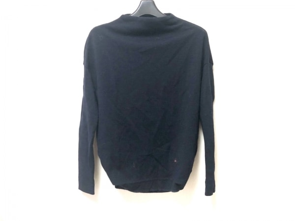 ENFOLD(エンフォルド) 長袖セーター サイズ38 M レディース ダークネイビー