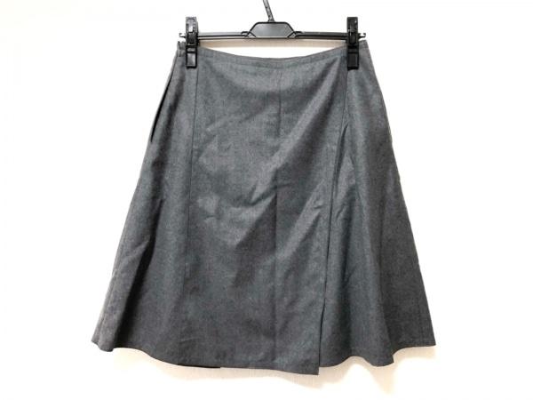 FOXEY(フォクシー) スカート サイズ40 M レディース グレー