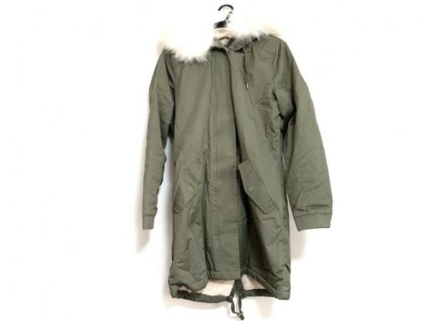 SPOOM(スプーム) コート サイズ38 M レディース美品  カーキ 冬物