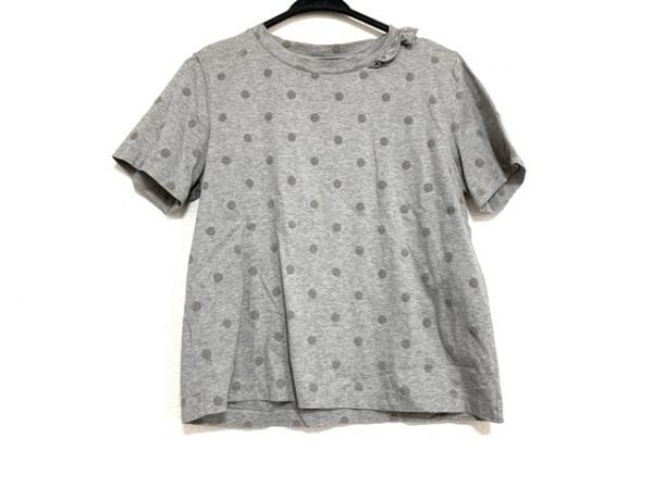 PaulSmith(ポールスミス) 半袖Tシャツ サイズM レディース美品  グレー ドット柄