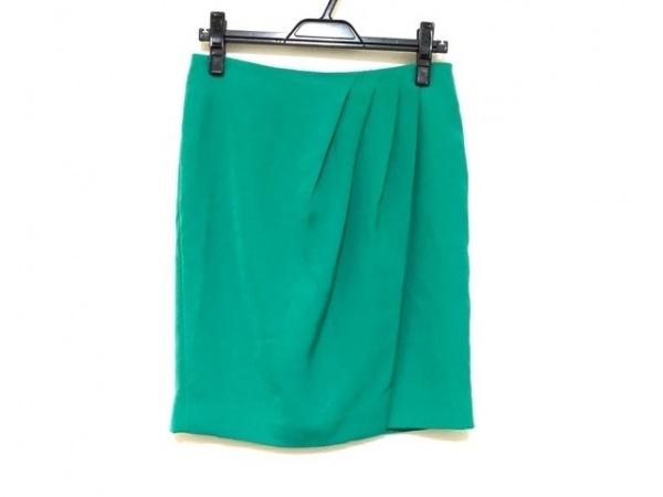 CalvinKlein(カルバンクライン) スカート サイズ0 XS レディース グリーン