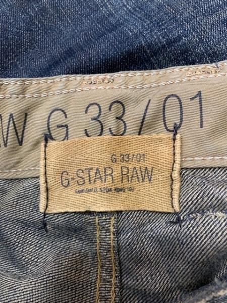 G-STAR RAW(ジースターロゥ) ジーンズ サイズ34L32 メンズ - - ネイビー