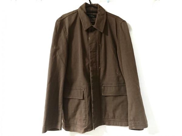 MEN'S MELROSE(メンズメルローズ) コート サイズ4 XL メンズ ブラウン 春・秋物