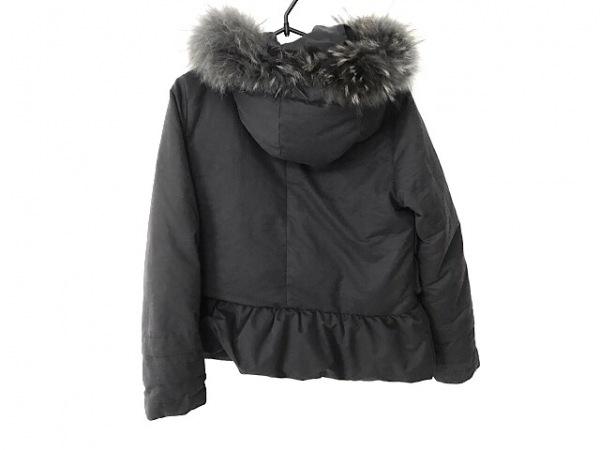 グレースコンチネンタル ダウンジャケット サイズ38 M レディース 黒 冬物