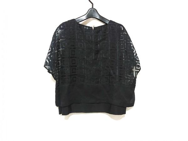 ADORE(アドーア) 半袖カットソー サイズ38 M レディース 黒 袖シースルー