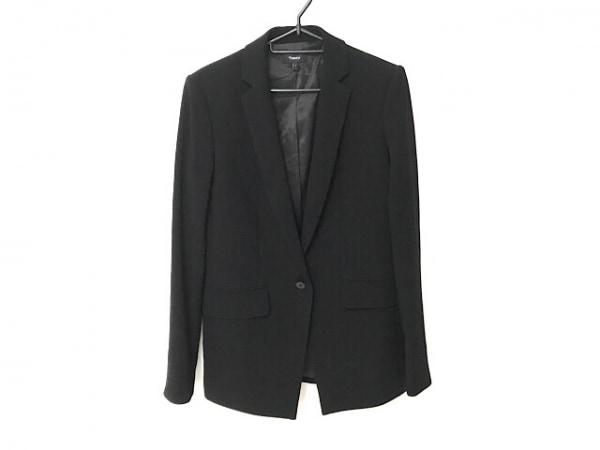 theory(セオリー) ジャケット サイズ0 XS レディース美品  黒