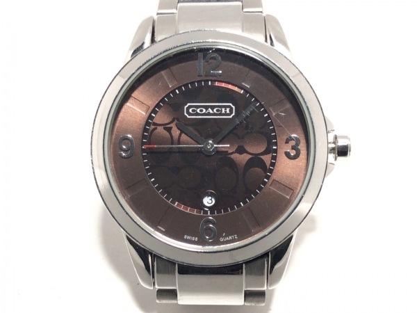 COACH(コーチ) 腕時計美品  ミニシグネチャー柄 0292.1 レディース ライトブラウン