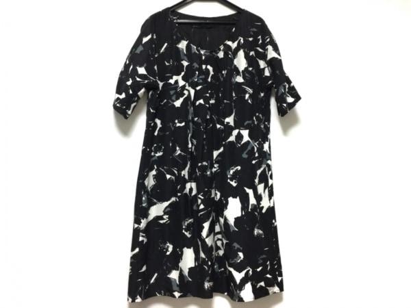 GALERIE VIE(ギャルリーヴィー) ワンピース レディース 黒×白×グレー