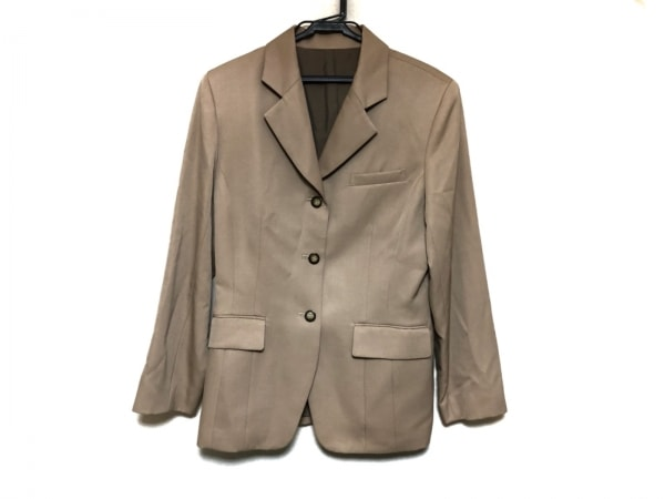 Lois CRAYON(ロイスクレヨン) ジャケット サイズM レディース美品  ベージュ 肩パッド