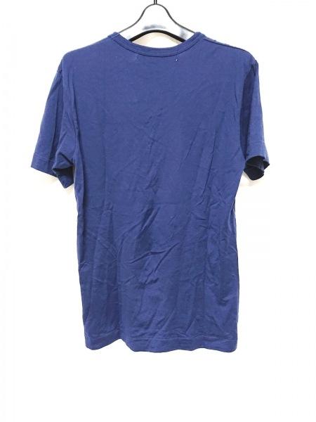 COMMEdesGARCONS(コムデギャルソン) 半袖Tシャツ サイズM メンズ ネイビー ハート