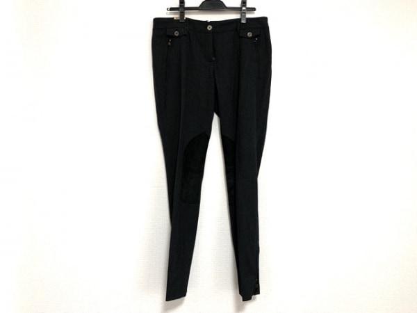ドルチェアンドガッバーナ パンツ サイズ44 S メンズ ダークグレー×黒×ゴールド