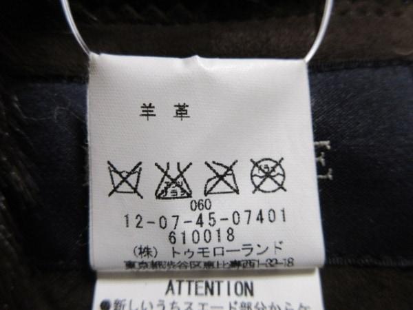 MACPHEE(マカフィ) ジャケット サイズ38 M レディース ダークブラウン レザー