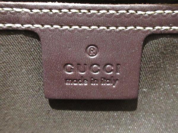 GUCCI(グッチ) ワンショルダーバッグ GG柄 211110 ベージュ×ダークブラウン