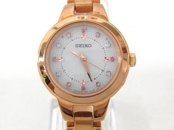SEIKO(セイコー) 腕時計 1B21-0AF0 レディース ラインストーン シルバー