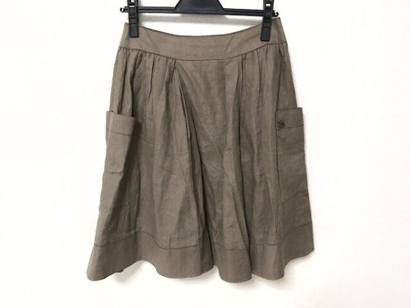 デイジーリン スカート サイズ40 M レディース美品  ダークブラウン for FOXEY