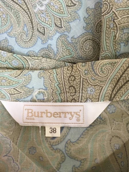 Burberry's(バーバリーズ) 半袖シャツブラウス サイズ38 M レディース ペイズリー柄
