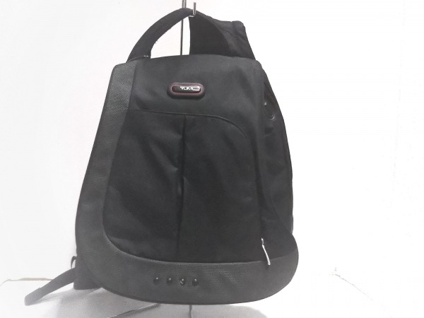 TUMI(トゥミ) ワンショルダーバッグ美品  5104D 黒×ダークグレー TUMIナイロン