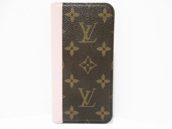ルイヴィトン 携帯電話ケース モノグラム美品  IPHONE X & XS・フォリオ M68686