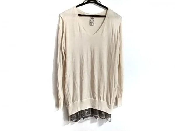 メゾン ド リーファー 長袖セーター サイズ38 M レディース美品  スパンコール