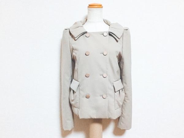 フォクシーニューヨーク コート サイズ38 M レディース ベージュ ショート丈/春・秋物
