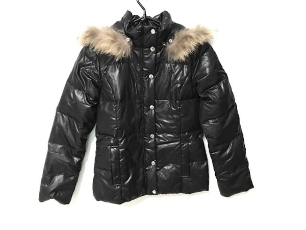 アンドバイピンキー&ダイアン ダウンジャケット サイズ38 M レディース 黒 冬物