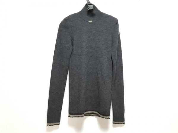 サルバトーレフェラガモ 長袖セーター サイズL レディース美品  ハイネック