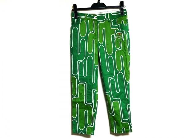 CALLAWAY(キャロウェイ) パンツ サイズS レディース グリーン×ライトグリーン×白