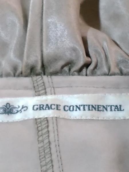 グレースコンチネンタル ジャケット サイズ36 S レディース ベージュ フリル