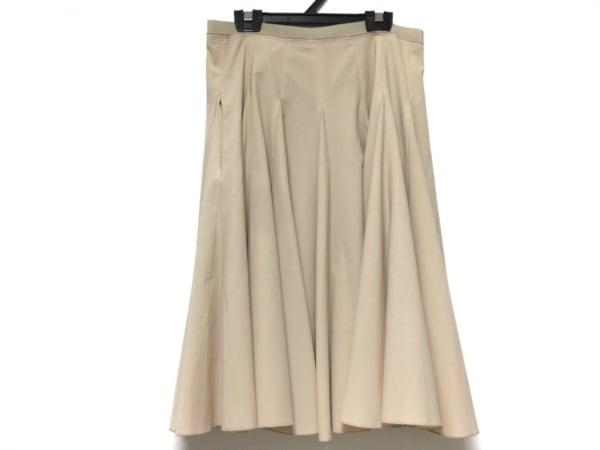 FOXEY NEW YORK(フォクシーニューヨーク) スカート サイズ40 M レディース ベージュ