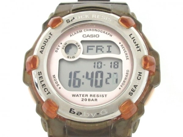 CASIO(カシオ) 腕時計 Baby-G BG-3000 レディース ライトピンク