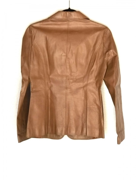 INDIVI(インディビ) ジャケット サイズ38 M レディース ブラウン レザー