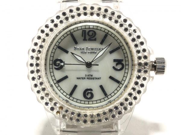 STAR JEWELRY(スタージュエリー) 腕時計 ICE TIME - レディース シェルホワイト