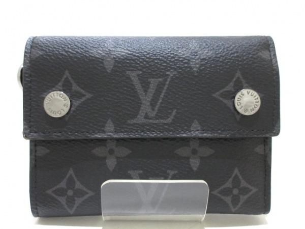 LOUIS VUITTON(ルイヴィトン) 3つ折り財布 モノグラムエクリプス(キャンバス) M63510