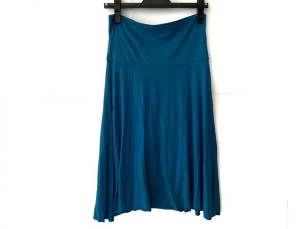 three dots(スリードッツ) スカート サイズXS レディース ブルー