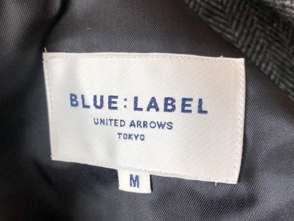 ユナイテッドアローズ ジャケット サイズM メンズ美品  黒×白 ハイネック