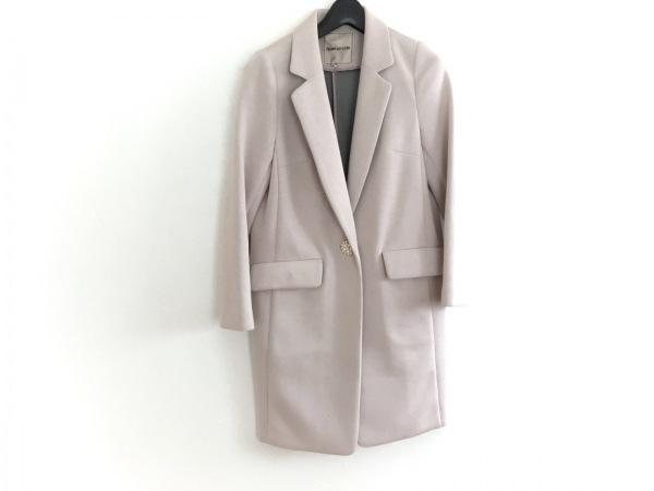 アプワイザーリッシェ コート サイズ0 XS レディース ピンク 春・秋物/フェイクパール