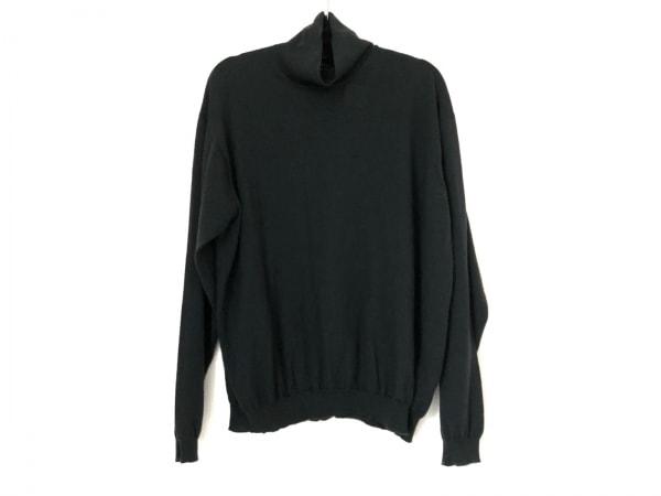 ジョルジオアルマーニクラシコ 長袖セーター サイズ50 メンズ美品  ダークグリーン