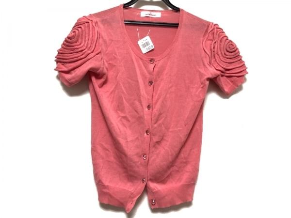 GALLERYVISCONTI(ギャラリービスコンティ) カーディガン レディース美品  ピンク 半袖