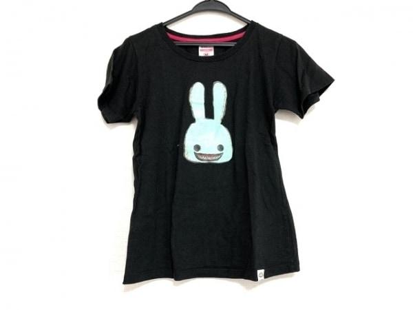 CUNE(キューン) 半袖Tシャツ サイズM レディース美品  黒 ウサギ