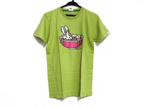 CUNE(キューン) 半袖Tシャツ サイズS レディース美品  ライトグリーン ウサギ