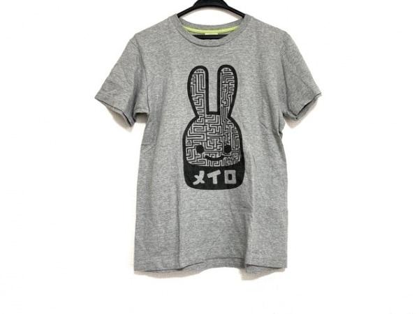 CUNE(キューン) 半袖Tシャツ サイズS レディース美品  ライトグレー×黒 ウサギ