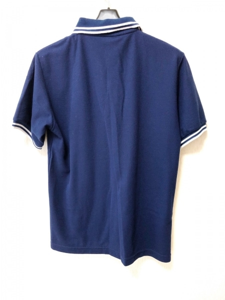 フレッドペリー 半袖ポロシャツ サイズ38 M メンズ ブルー×白 2