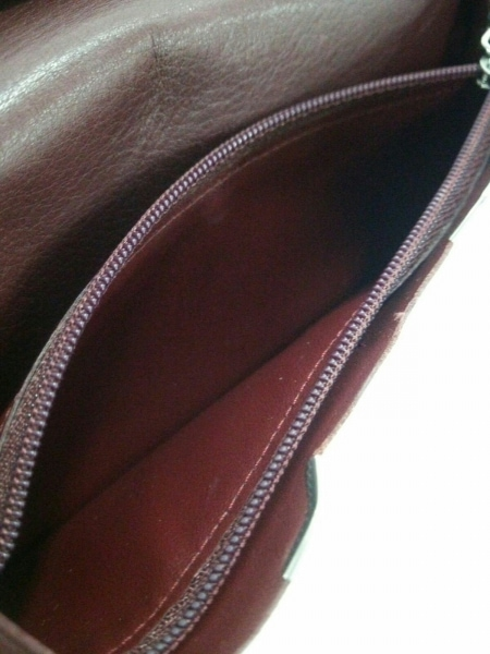 カルティエ 長財布 カボション 黒×シルバー レザー×金属素材 4