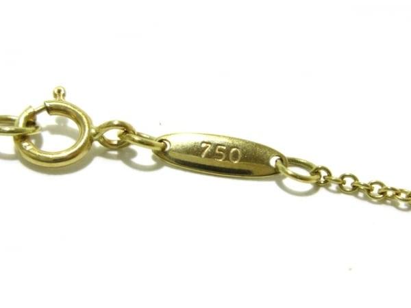ティファニー ネックレス美品  エターナルサークル K18YG 6