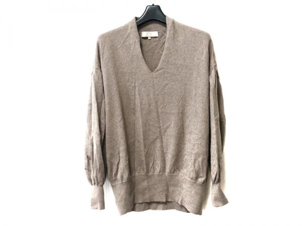 自由区/jiyuku(ジユウク) 長袖セーター サイズ38 M レディース ブラウン