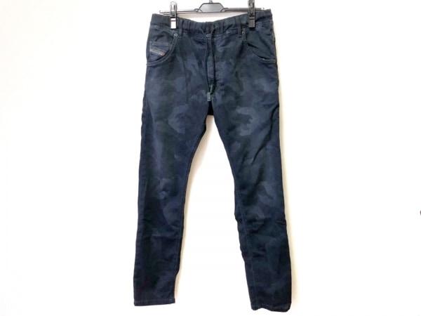ディーゼル パンツ サイズ32 XS メンズ KROOLEY-NE ダークネイビー×黒×ダークグレー