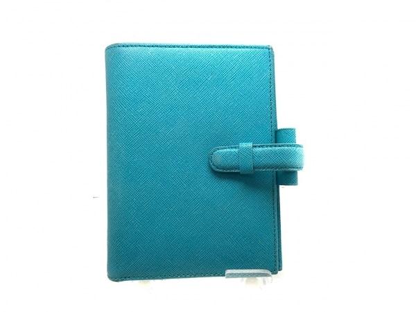 Filofax(ファイロファックス) 手帳 ライトブルー レザー