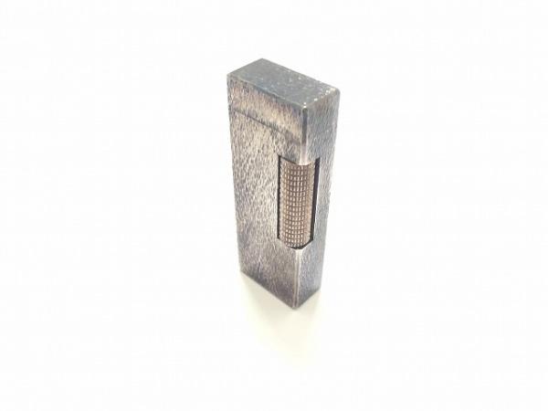 dunhill/ALFREDDUNHILL(ダンヒル) ライター シルバー 着火確認できず 金属素材