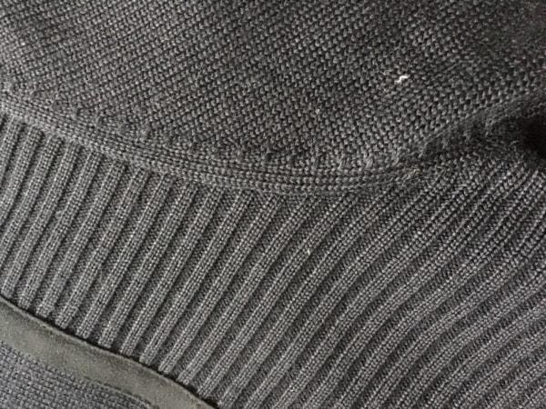 エンポリオアルマーニ ブルゾン サイズ48 M メンズ 黒 ニット/冬物 6