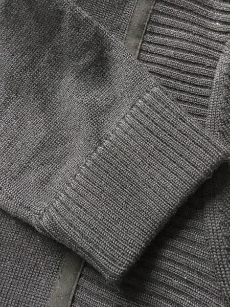 エンポリオアルマーニ ブルゾン サイズ48 M メンズ 黒 ニット/冬物 7